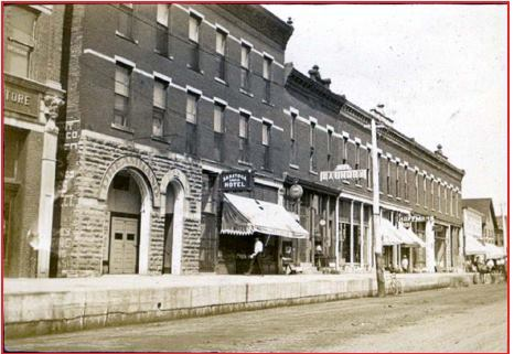 Original location Kewanee 1907