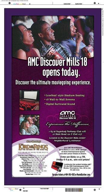 AMC Discover Mills 18