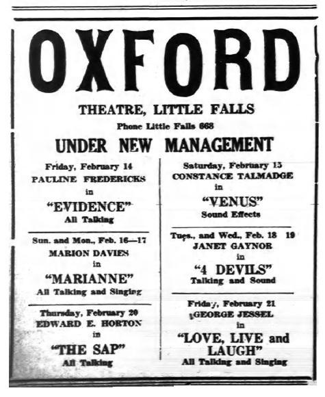 Oxford Theatre