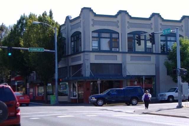 Southeast corner