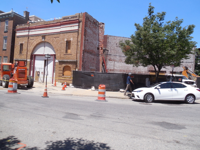 6-16-18 beyond front, lobby then ex auditorium angles towards South St