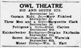 August 1919 newspaper