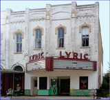 *Lyric Theater..Flatonia Texas..VanishingMovieTheaters*
