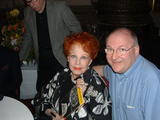 "<p>Arlene Dahl, star of ""Journey to the Center of the Earth"" and me in the Loew's lobby, before a screening of the film.</p>"