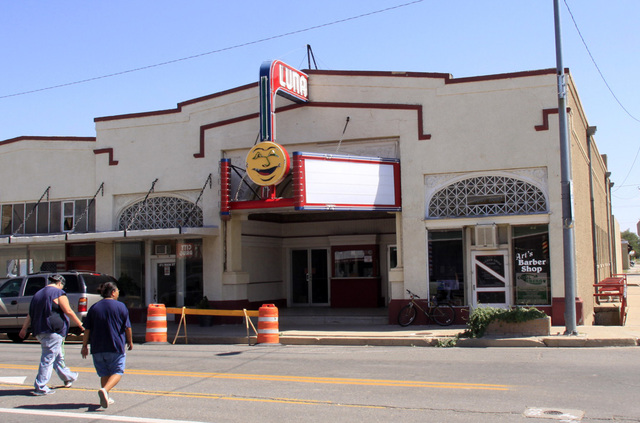 Luna Theatre, Clayton, NM -- 2011