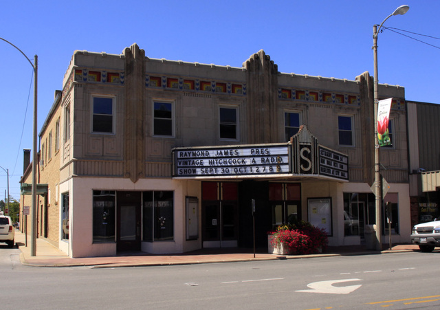 Salem Theater and Cultural Center, Salem, IL -- 2011