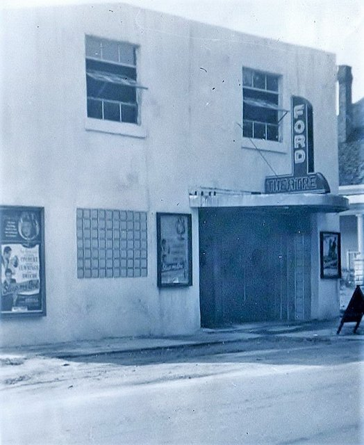 Original Ford Theatre. 1949 photo courtesy of Judy Hulsey.