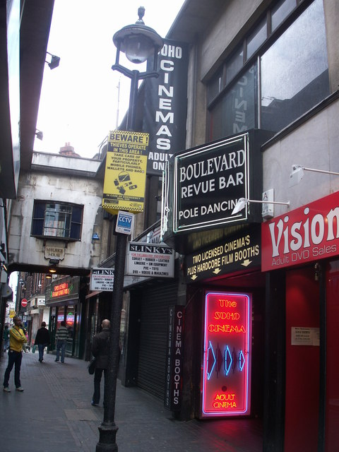 Soho Cinemas in April 2007
