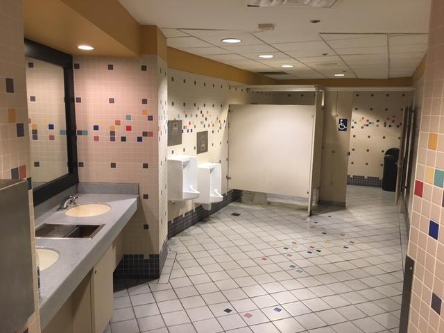 3rd floor restrooms