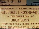 CHUCK BERRY 60th birthday concert