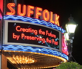 <p>Suffolk Theater Marquee Lighting Ceremony Sept. 2 2011</p>