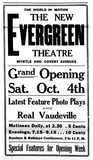 Evergreen Theatre