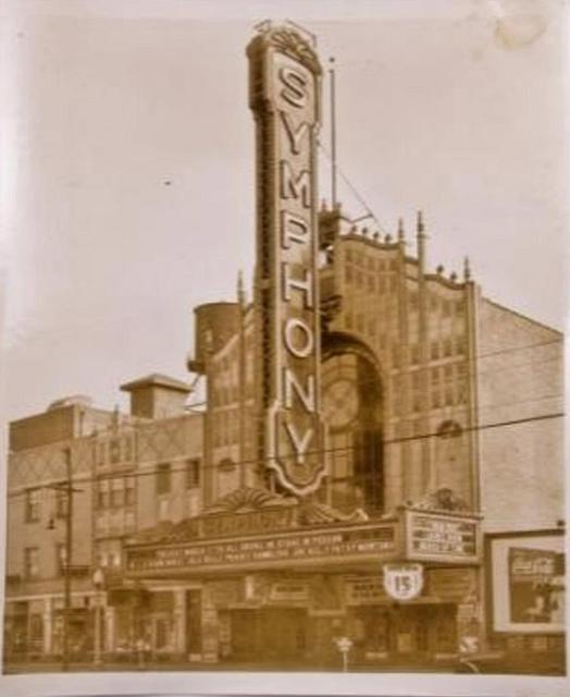 Symphony Theater in its Glory Day's !
