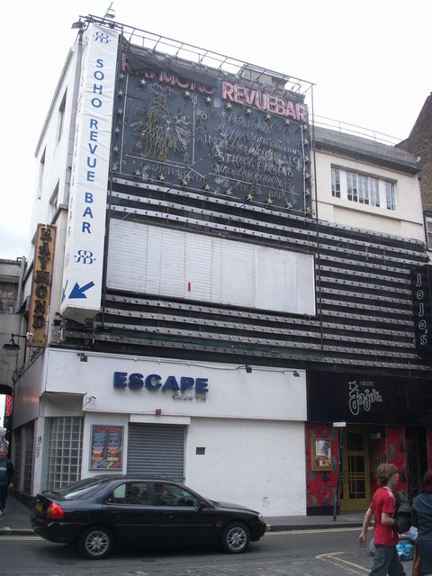 Soho Cinema in April 2007