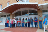 Palace Theater, Spur, Texas, grand reopening, July 7, 2018