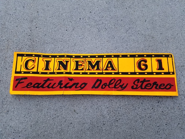 Cinema 61 bumper sticker