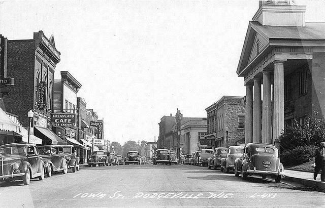 Circa 1946 photo via Raymond Storey.