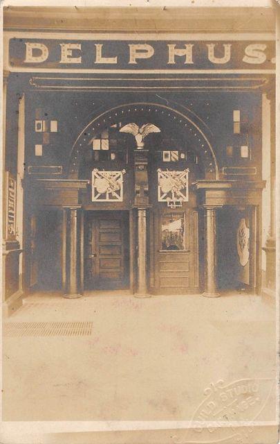 Delphus Theatre Postcard