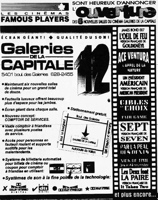 November 1995 expansion opening ad