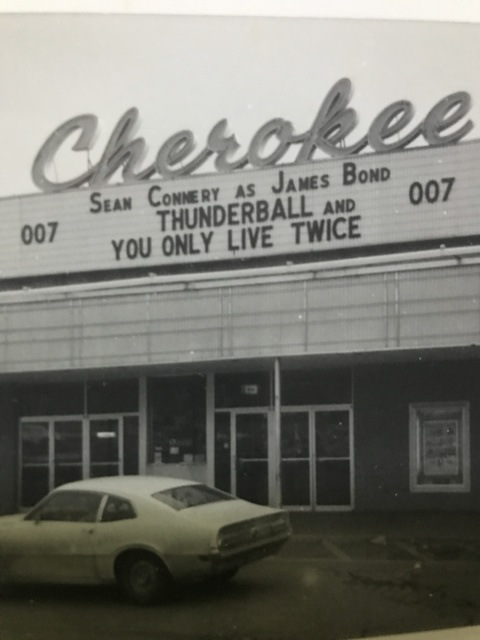 Cherokee Theater Marquee