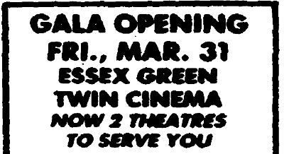 General Cinema Essex Green I Iii In West Orange Nj Cinema Treasures