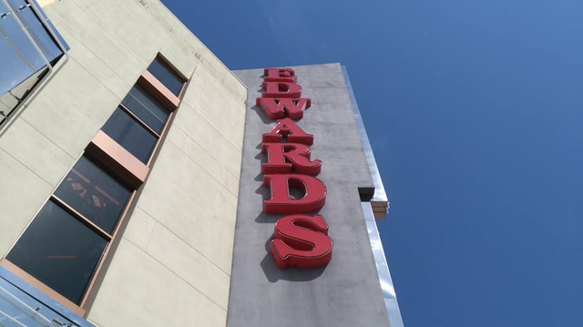 Edwards Sign