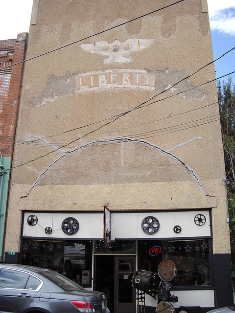 Liberty Theater front, Jerome, AZ