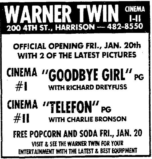 Warner Cinema 1 & 2