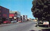 Show Theatre marquee center right, circa 1965.