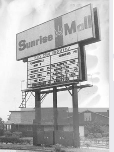 UA The Movies at Sunrise Mall
