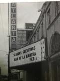 """Atlanta """"Walter Reade"""" Theater Marquee"""