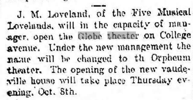 CRYSTAL Theatre; Racine, Wisconsin.