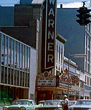 Warner Theatre exterior