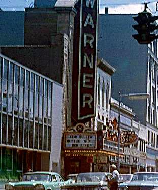 Warner Theatre exterior