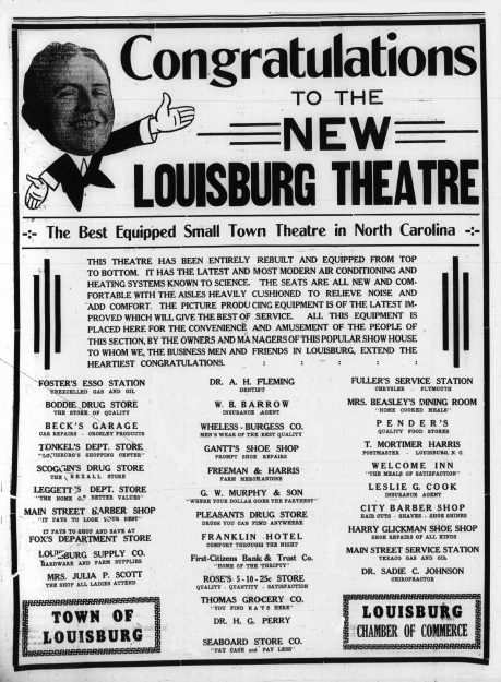 Louisburg Theater In Louisburg Nc Cinema Treasures