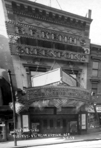 B.F. Keith's Greenpoint Theatre exterior