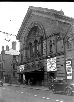 shortly after opening derby temperance hall