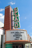 S.C.A.D. Theater Marquee