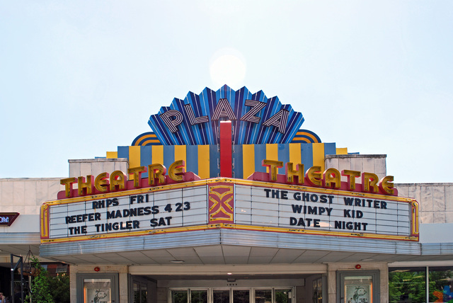 Plaza Theatre Marquee