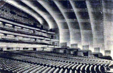 Radio City Music Hall auditorium