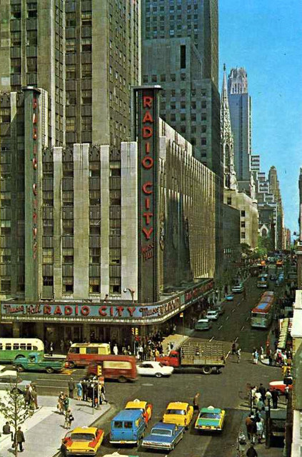 Radio City Music Hall exterior