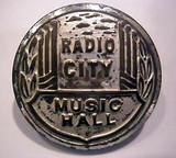 Radio City Music Hall ushers uniform button