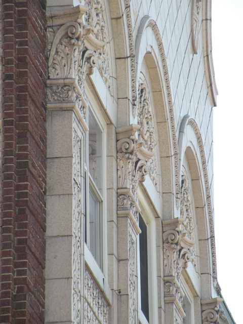 Facade of Kenosha Theater
