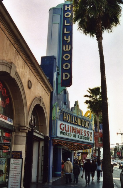 Hollywood Theatre - Hollywood, CA