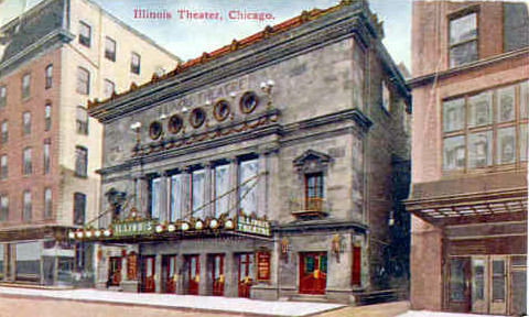 Illinois Theatre exterior