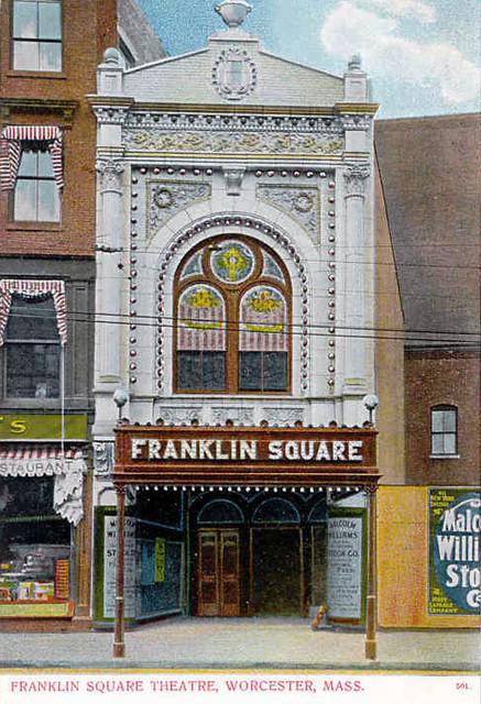 Franklin Square Theatre exterior