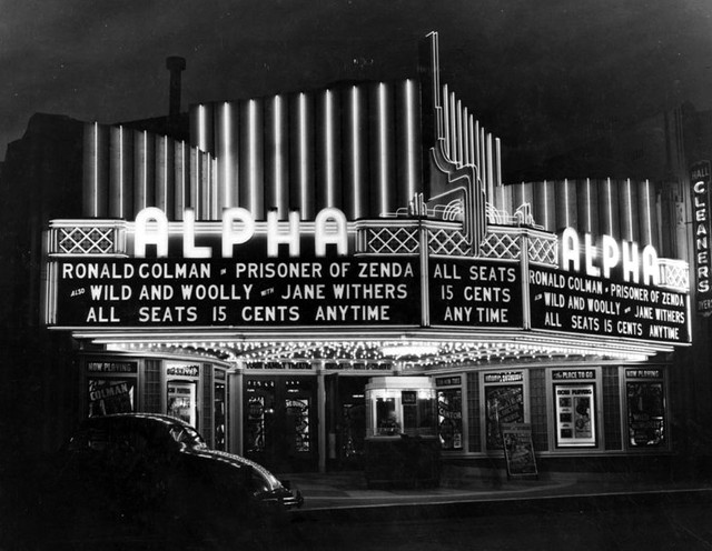 Fox Alpha Theatre exterior