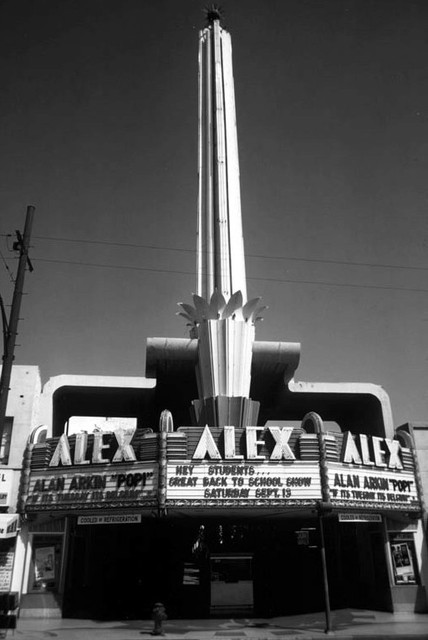 NGC's Alex Theatre exterior