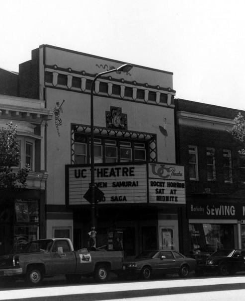 UC Theatre exterior
