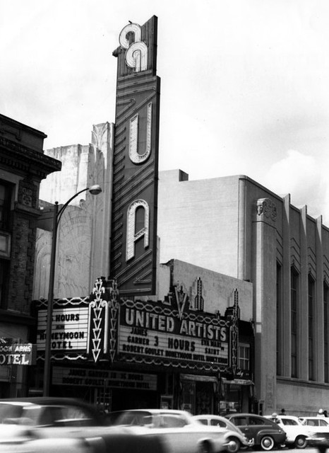 United Artists Theatre exterior